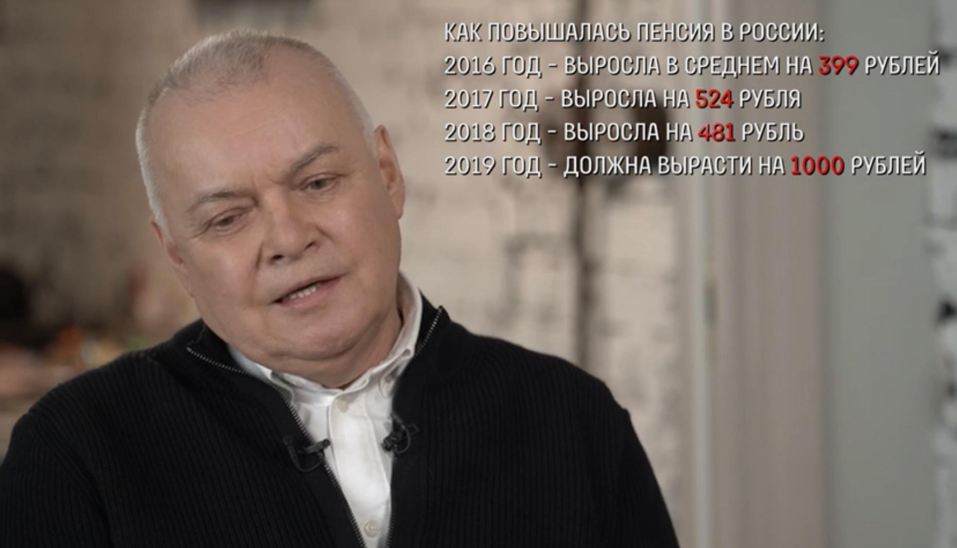 Киселёв пенсии фото