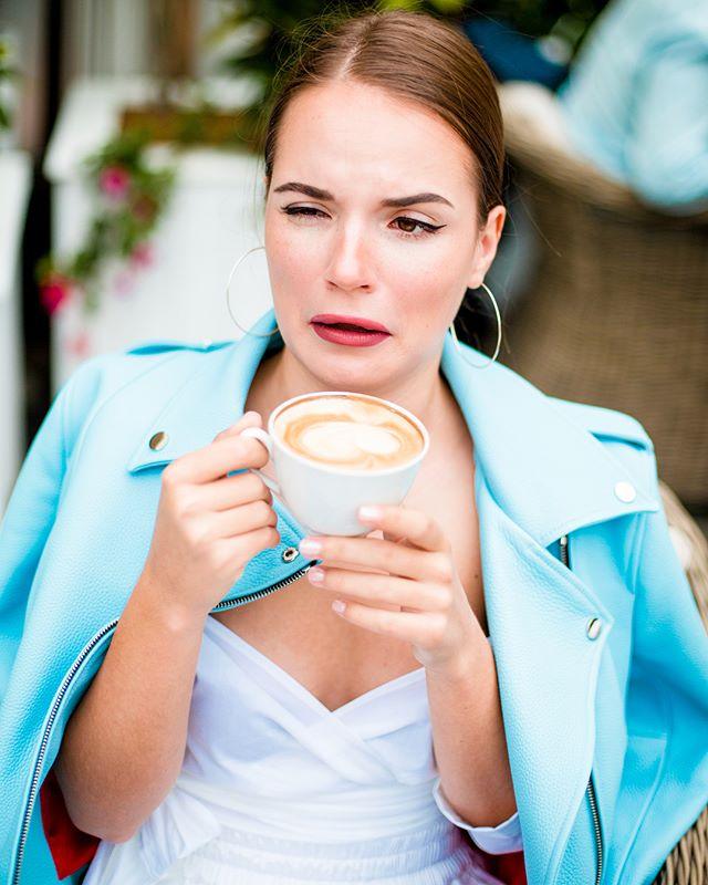 Саша Спилберг кофе не понравился