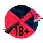 Топор 18+ телеграм канал фото логотипа