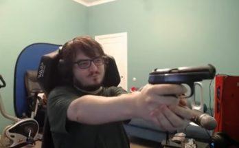 Илью Мэддисона забанили на Twitch за оружие в кадре