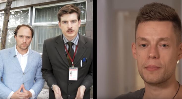 """кадр из шоу """"вДудь"""" про Реутов-ТВ"""