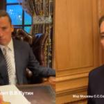 Кадр из пародии Галкина на Путина и Собянина